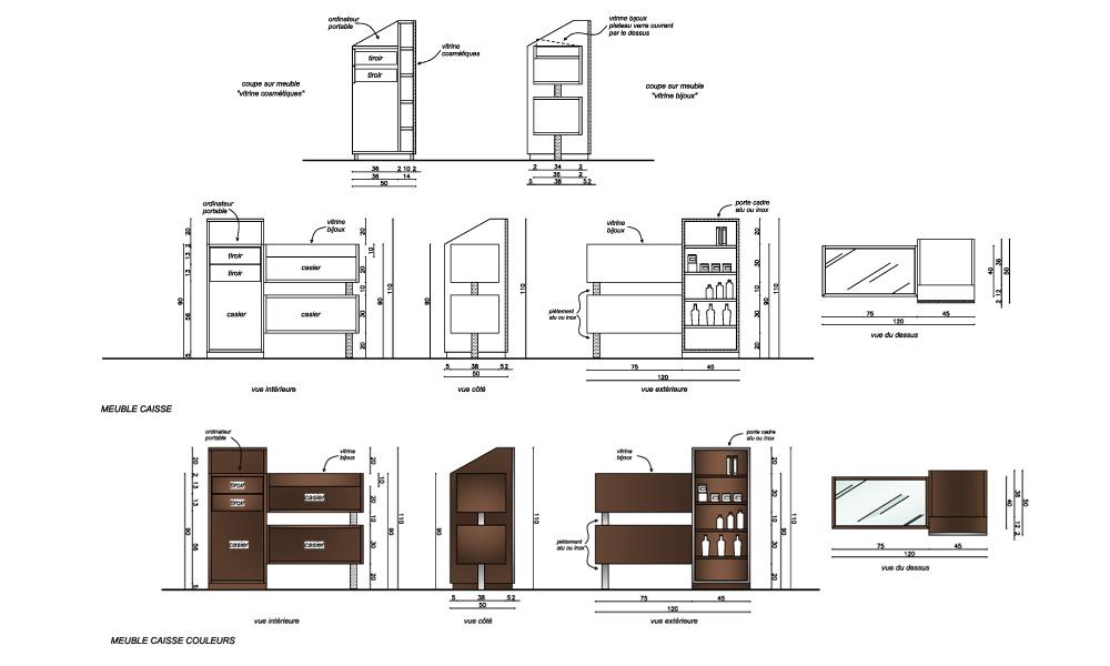 Architecture int rieur pour commerce specialis dans le for Prix d un architecte pour plan de garage
